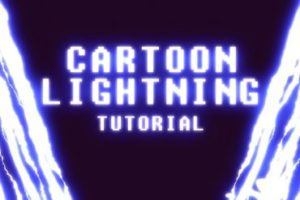 Create Anime Lightning Motion in After Effects