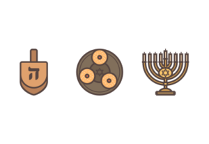 Draw a Hanukkah Themed Icon Pack in Illustrator