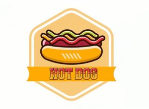 Draw a Vector Hot Dog Logo in Adobe Illustrator