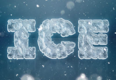 Create an Easy Ice Text Effect in Photoshop