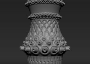 Modeling with Radial Symmetry in ZBrush