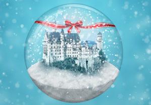Create a Winter Snow Globe in Photoshop
