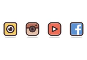 Draw a Social Media Icon in Adobe Illustrator