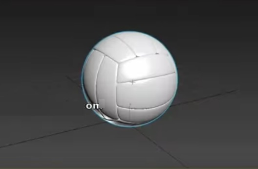 Modeling Higpoly Volley Ball in 3ds Max
