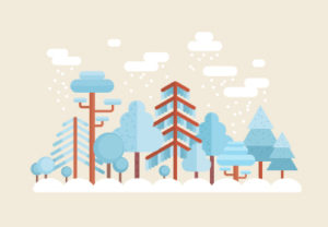 Draw a Flat Winter Scene in Adobe Illustrator