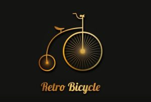 Draw a Retro Bicycle Logo Design in Illustrator