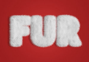 Create a Fur Action Text Effect in Photoshop
