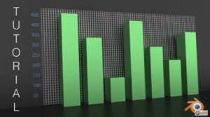 Create Bar Graphs Statistics Animation in Blender