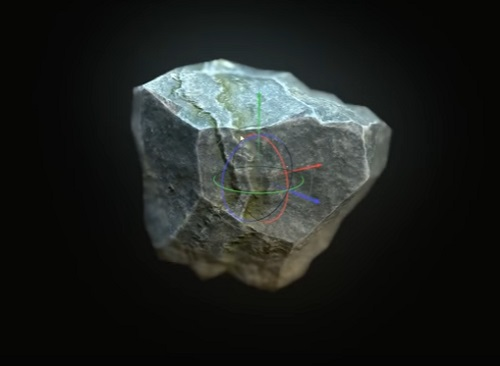 Modelling a Easy Lowpoly Rocks in 3ds Max