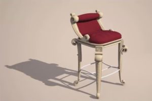 Modeling a Realistic Luxurious Stool Bar in 3ds Max