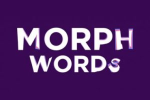 Creating a Word Morph Transition in After Effects