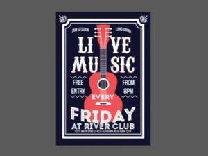 Draw a Live Music Poster Design in CorelDRAW