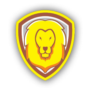 Free Vector Lion Shield download