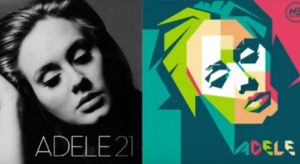 Create Simple WPAP Adele in CorelDRAW