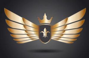 Draw a Golden Wings Logo in Adobe Illustrator
