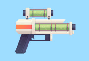 Draw a Flat Sci-Fi Blaster in Adobe Illustrator