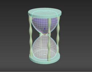 Modeling Simple HourGlass in Autodesk 3ds Max