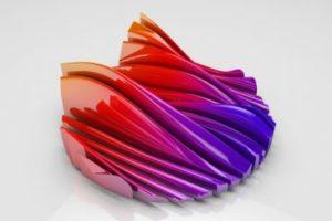 Cool Wave Effect with Displacer Deformer in Cinema 4D