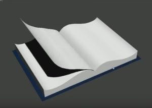 Create Book Page Flip in Autodesk 3ds Max