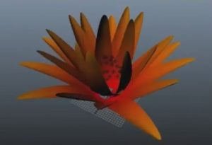 Create Dynamic Flower Blooming in Maya
