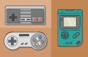 Draw a Video Game Flat Design in Illustrator