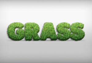 Create a Grass Action Text Effect in Photoshop