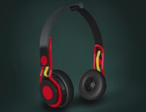 Modeling and Texturing Headphone in Cinema 4D