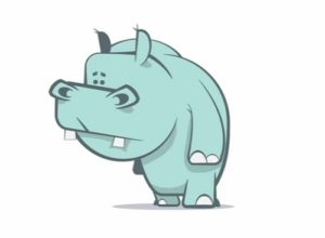 Draw a Simple Hippo Cartoon in Illustrator