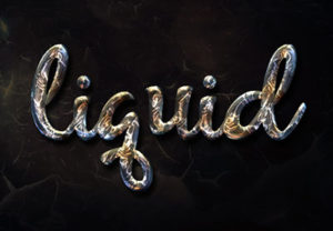 Create a Liquid Metal Text Effect in Photoshop