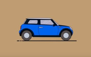 Draw a Mini Cooper Car From a Sketch in Illustrator