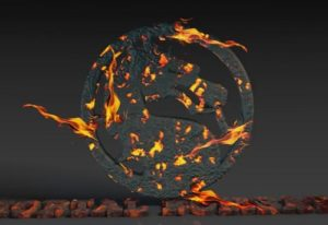 Draw a Mortal Kombat Logo in Cinema 4D