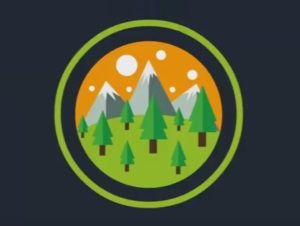 Draw a Simple Vector Mountain Label in Ilustrator