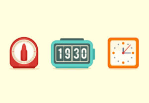 Draw a Set of Flat Clock Icons in Illustrator