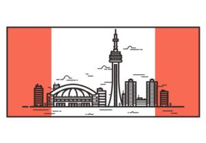 Draw a Vector Toronto Skyline in Illustrator