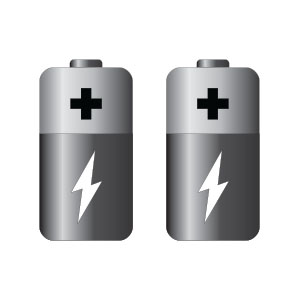 Vector Battery Icon Free download