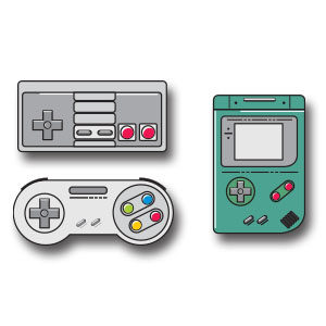 Vector Game Boy Icon Free