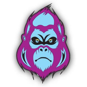 Free Vector Gorilla Logo download