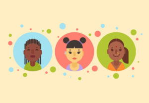 Draw a Diverse Vector Women Avatars in Illustrator