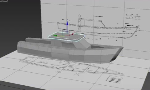 Modeling a Simple Boat in Autodesk 3ds Max