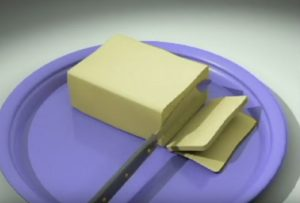 Create a Knife Cutting Butter in 3ds Max