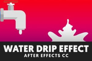 Create Flat Liquid Drip and Splash in After Effects