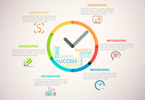 Draw a Line Clock Infographic in Illustrator