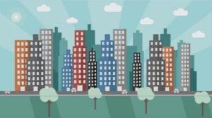 Draw a Urban City Landscape in Adobe Illustrator