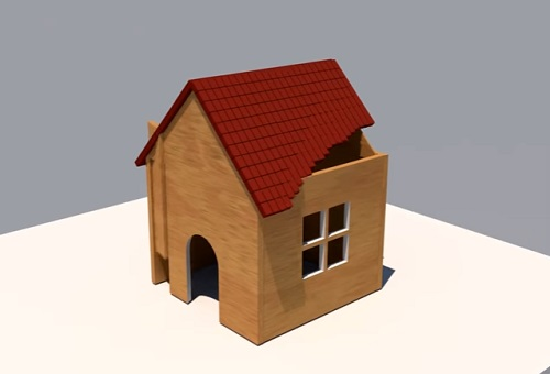 Build a Little House with Shader Effector in Cinema 4D