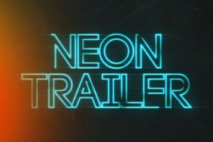 Create a Neon Trailer Title in After Effects