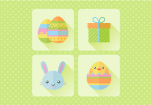 Draw a Flat Design Easter Icons in Illustrator