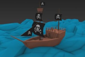 Model a Low Poly Pirate Ship in Autodesk 3ds Max