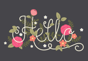 Draw a Spring Floral Lettering Card in Illustrator
