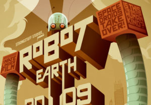 Draw Robot Earth Typographic in Adobe Illustrator