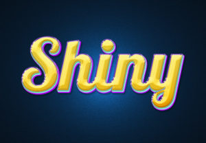Create a Colorful and Shiny Text Effect in Photoshop